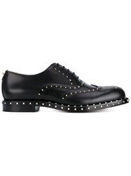Valentino 'Soul Rockstud' Oxford Shoes Black