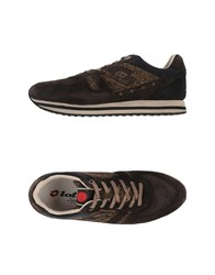 Lotto Leggenda Footwear Low Tops And Trainers Men Dark Brown