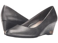 Soft Style Gana Dark Pewter Vitello Women's Wedge Shoes