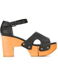 Robert Clergerie 'Cevina' Sandals Black