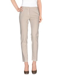 Incotex Red Trousers Casual Trousers Women Beige