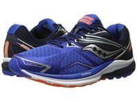Saucony Ride 9 Grey Blue Orange Men's Running Shoes Multi