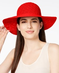 Collection Xiix Color Expansion Floppy Hat Coral Western