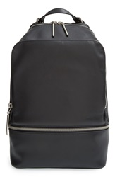 3.1 Phillip Lim '31 Hour' Zip Around Leather Backpack Black Nickel