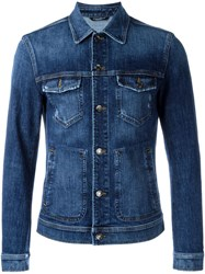 Dolce And Gabbana Denim Jacket Blue