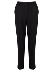 Boss Logo Boss Straight Leg Trousers Black