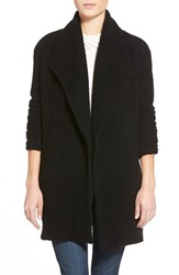 Women's James Perse Open Drape Boucle Cardigan