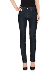 Jil Sander Denim Denim Trousers Women Blue