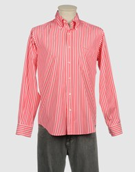 Westport Shirts Long Sleeve Shirts Men Fuchsia