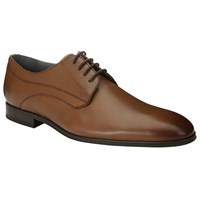 John Lewis Kin By Alex Leather Lace Up Derby Shoes Brown