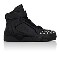 Givenchy Men's Studded Tyson Ankle Strap Sneakers Blue