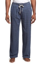 Tommy Bahama Herringbone Knit Jersey Lounge Pants Blue