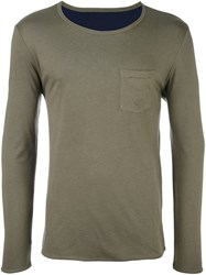 Paul And Joe Long Sleeve T Shirt Green