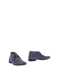 Thompson Ankle Boots Grey