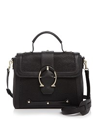 Etienne Aigner Small Eti Barrel Satchel Black