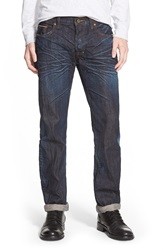 Prps 'Barracuda' Straight Leg Selvedge Jeans 6 Month Wash