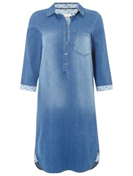 White Stuff Sabine Shirt Dress Denim