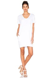 Sundry T Shirt Dress White