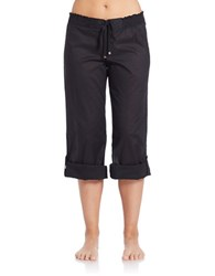 Michael Kors Solids Cover Up Pants Black