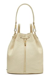 Elizabeth And James 'Cynnie' Leather Sling Backpack White