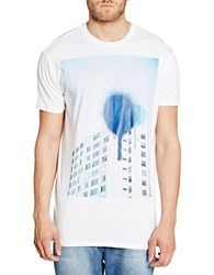 Bench Composition Graphic Tee White