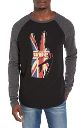 Lucky Brand Men's The Who Peace Sign Graphic Thermal