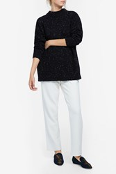 Tibi Women S Tweed Boyfriend Jumper Boutique1 Black