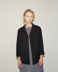 Casey Casey Cotton Wool Jacket Navy