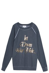 Wildfox Couture Let Down Your Hair Sweater Black