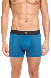 Tommy John Men's 'Air' Trunks Moroccan Blue