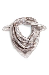 Junior Women's Lulu Paisley Scarf Grey