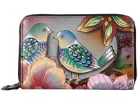 Anuschka 1125 Blissful Birds Handbags Purple