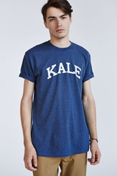 Urban Outfitters Suburban Riot Kale Tee Navy