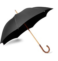 London Undercover City Gent Bamboo Handle Umbrella Black