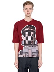 Antonio Marras Lighthouse Heavy Cotton Jersey T Shirt