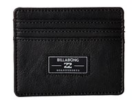 Billabong Tribong Money Clip Black Wallet