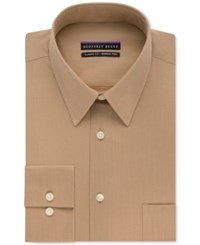 Geoffrey Beene Non Iron Bedford Cord Solid Dress Shirt Wicker