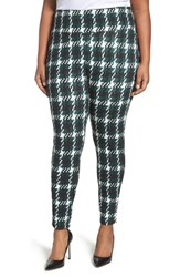 Melissa Mccarthy Seven7 Plus Size Women's Houndstooth Ponte Leggings