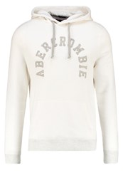 Abercrombie And Fitch Core Hoodie Cream White