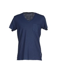 Bowery Topwear T Shirts Men Dark Blue