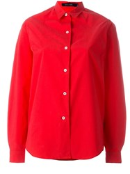 Sofie D'hoore Boxy Fit Shirt Red