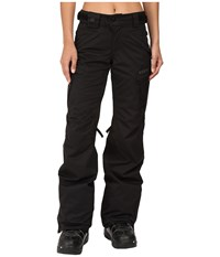 686 Authentic Smarty Cargo Pant Black Tall Women's Outerwear