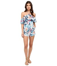 6 Shore Road Saturdaze Romper Cover Up Colonial Floral Women's Jumpsuit And Rompers One Piece Multi
