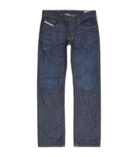 Diesel Straight Mid Wash Jeans Male