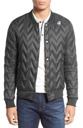 K Way Men's Quilted Bomber Jacket Torba