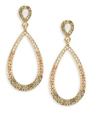 Catherine Stein Pave Teardrop Earrings Blush
