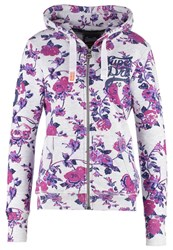 Superdry Tracksuit Top Ice Marl Pink