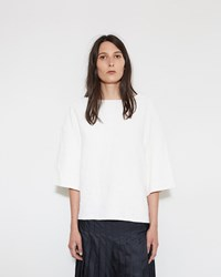 Christophe Lemaire Essential Tee Chalk