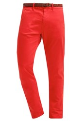 Scotch And Soda Chinos Flame Red