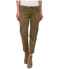 Sanctuary Fall Nature Crop Pants Country Green Women's Casual Pants Beige
